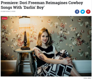 Dori Freeman's New Video Featured on Rolling Stone Country