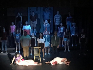 BWW Review: Young, Talented Cast Shines in the Very Dark CARRIE: THE MUSICAL at Richey Suncoast Theatre