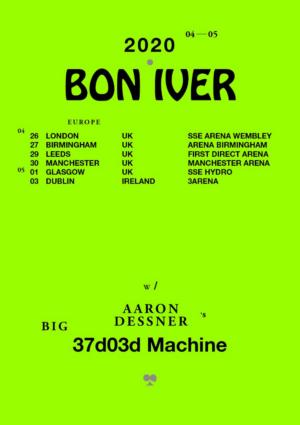 Bon Iver Announces European Arena Tour