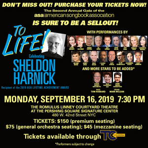 BWW Interview: Marilyn Lester of TO LIFE! CELEBRATING SHELDON HARNICK at The Pershing Square Signature Center