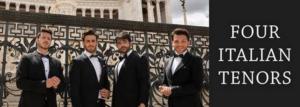 FSCJ Artist Series Presents The Four Italian Tenors