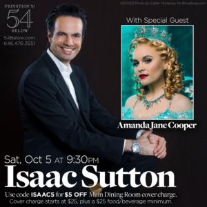 Amanda Jane Cooper Joins Isaac Sutton's Celebration of BROADWAY ISRAEL
