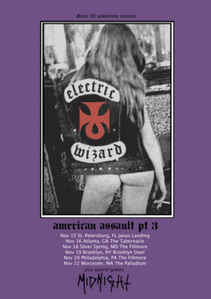 Electric Wizard to Tour the East Coast this Fall