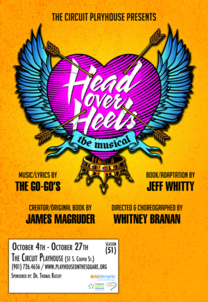 The Circuit Playhouse Brings The Beat To Memphis With Regional Premiere of HEAD OVER HEELS