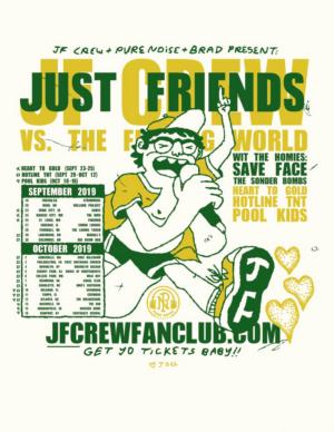 Just Friends US Headlining Tour Kicks Off September 19th