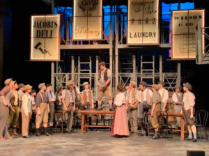 BWW Review: DISNEY'S NEWSIES - Delights With A Young, High Energy Cast