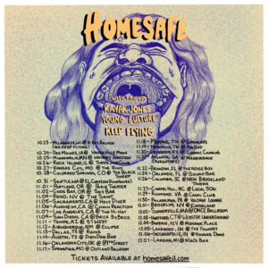 Young Culture Announces Tour with Homesafe, Kayack Jones and Keep Flying