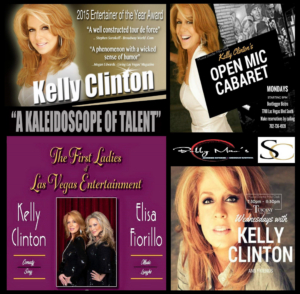BWW Preview: Entertainer Kelly Clinton Brings An Entrepreneurial Flair To Las Vegas Showrooms