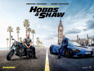 FAST & FURIOUS PRESENTS: HOBBS AND SHAW Available on Digital Oct. 15