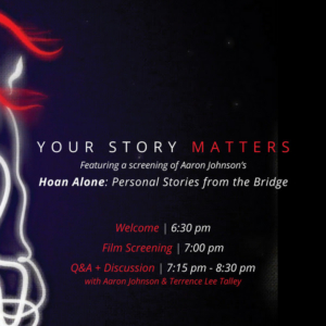 WCT Presents YOUR STORY MATTERS