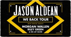 Jason Aldean Announces the 2020 'We Back Tour'