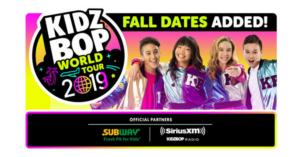 KIDZ BOP, Live Nation Expand 'KIDZ BOP World Tour' In US, Canada, and UK