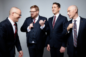 Miller Theatre Presents Vocal Quartet New York Polyphony In Gothic Polyphony