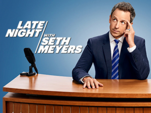 Scoop: Upcoming Guests on LATE NIGHT WITH SETH MEYERS, 9/23 - 9/30