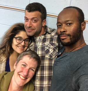 BWW Review: FRIENDS WITH GUNS by Uprising Productions at Off Leash Art Box