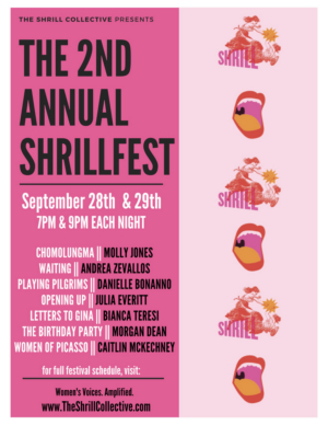 The 2nd Annual ShrillFest Features 7 New Works