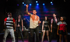BWW Review: BLOODY BLOODY ANDREW JACKSON at Custom Made Theatre Company Takes An Anarchic Rock Approach To The Genocidal, Land-Grabbing President