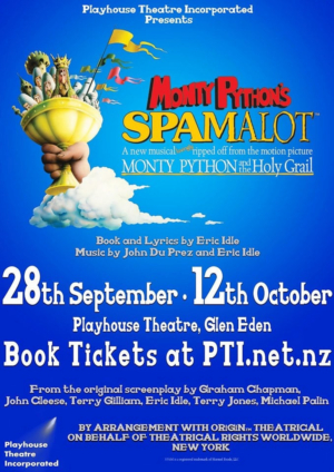 BWW Review: SPAMALOT at Playhouse Theatre, Glen Eden, Auckland