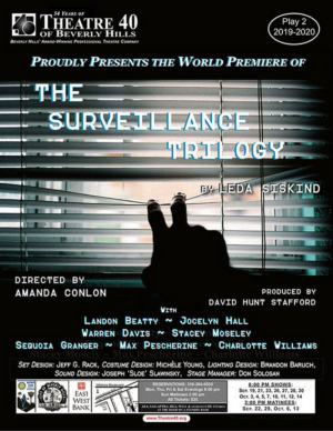BWW Review: THE SURVEILLANCE TRILOGY Confirms Big Brother Has Always Been Watching Us