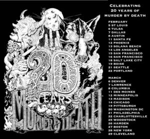 Murder By Death Announces 20th Anniversary U.S. Tour