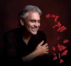 Andrea Bocelli Announces Annual U.S.Valentine's Day Tour
