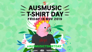 Support Act Announces Details of 2019 Ausmusic T-Shirt Day