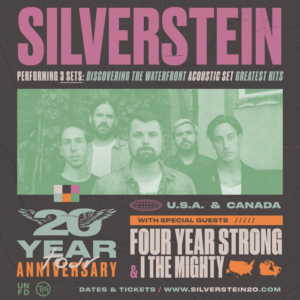 Silverstein Announces 20th Anniversary Tour