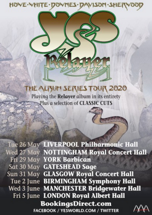 YES Announces UK Tour