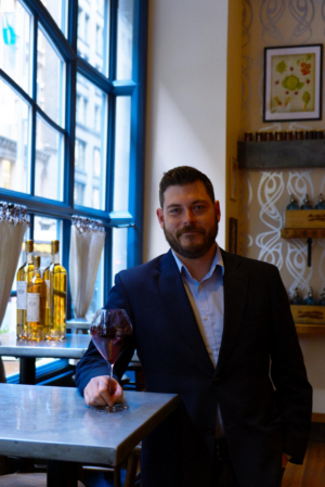 Meet the Sommelier: Timothy Brierley of TRATTORIA ITALIENNE in the Flatiron