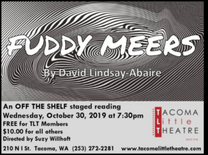 TLT presents FUDDY MEERS An Off the Shelf Staged Reading
