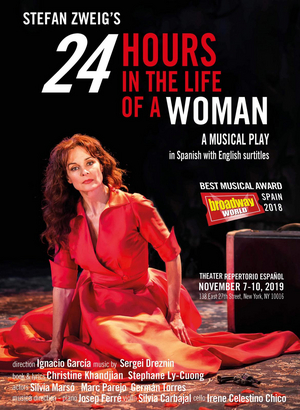 24 HORAS EN LA VIDA DE UNA MUJER se estrena en Nueva York el próximo mes