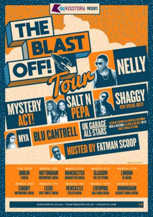 Nelly, Shaggy, Salt N Pepa, Blu Cantrell Join The Blast Off! Tour 2020
