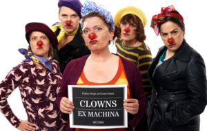 La Mama Presents Clowns Ex Machina In The World Premiere Of THE BAD'UNS: CLOWN ACTS OF CONTAGION