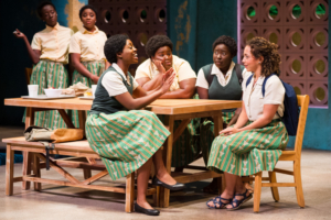 BWW Review: SCHOOL GIRLS; OR, THE AFRICAN MEAN GIRLS PLAY  at the Round House Theatre - A Great Way to Open Their Renovated Theatre.