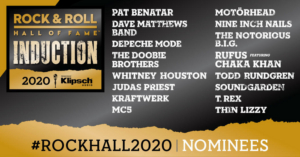 Whitney Houston, Pat Benatar Among Nominees for 2020 Rock & Roll Hall of Fame
