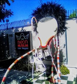 BWW Feature: LOST VEGAS: TIM BURTON At The Neon Museum Las Vegas