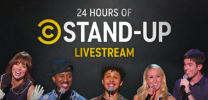 Comedy Central to Live Stream 24 Hours of Stand-Up Content on Youtube