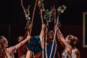 BWW Review: A Genderfluid God Gets Revenge in Shaking the Tree's Thrilling BAKKHAI
