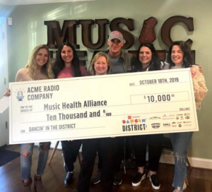 Dancin' In The District Raises $10,000 for the Music Health Alliance