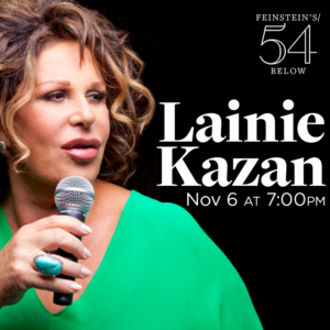 Lainie Kazan Returns to Feinstein's/54 Below Nov. 6