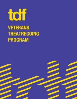 TDF Announced 3rd Season Of TDF Veterans Theatregoing Program