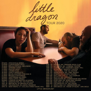 Little Dragon Shares New Track & Announce 2020 Tour Dates