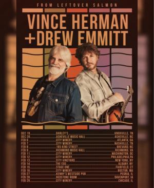 Vince Herman & Drew Emmitt Will Tour This Winter