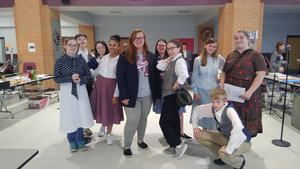 BWW Interview: Wyatt Crow, Susan Gunther, Kaeden Porter, Kayla Chassels of WAR OF THE WORLDS: THE PANIC BROADCAST at Morrilton High School enjoys performing radio play
