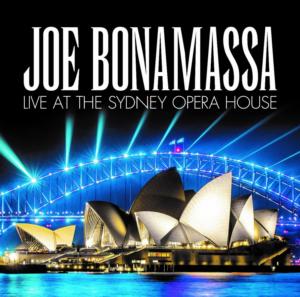 Joe Bonamassa Releases New Album LIVE AT THE SYDNEY OPERA HOUSE