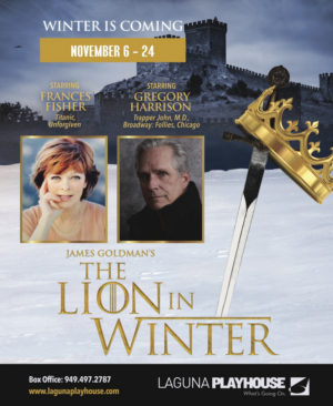 Frances Fisher and Gregory Harrison Will Lead Laguna Playhouse's THE LION IN WINTER