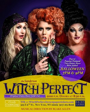 BWW Review: With WITCH PERFECT Club Cumming Shows Us Which Witch is Which for Halloween