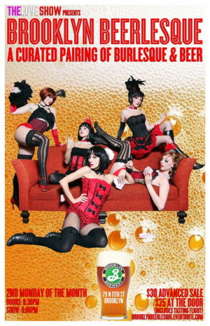 THE LOVE SHOW Announces The Cast For The November 11th Edition Of BROOKLYN BEERLESQUE At Brooklyn Brewery