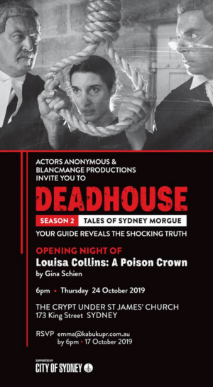 BWW REVIEW: Guest Reviewer Kym Vaitiekus Shares His Thoughts On DEADHOUSE SEASON 2 TALES OF SYDNEY MORGUE