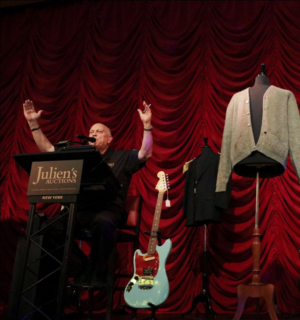 Kurt Cobain's MTV Unplugged Cardigan Sold for $334,0000